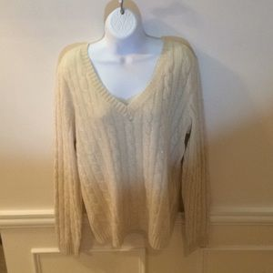 Lord and Taylor women's cashmere sweater
